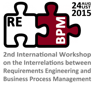 2nd International Workshop on the Interrelations between Requirements Engineering & Business Process Management (REBPM)