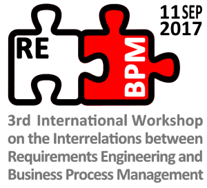 3rd Workshop Requirements Engineering & Business Process Management (REBPM)