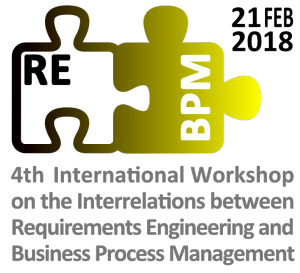 4th Workshop Requirements Engineering & Business Process Management (REBPM)